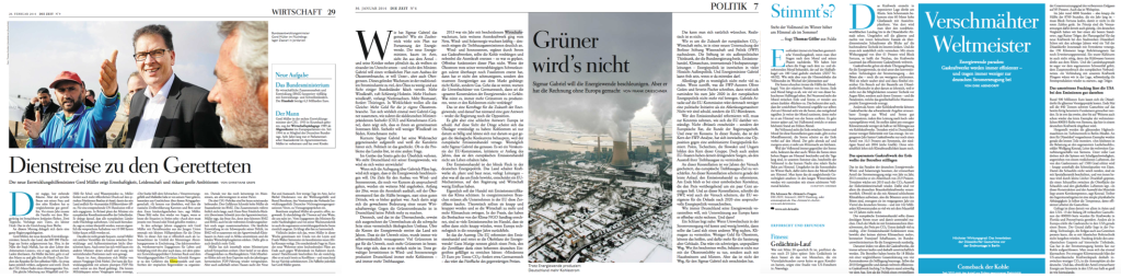 Selected images and articles from Die ZEIT